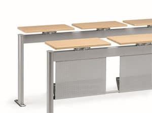 KOMPACT 880, Modulare Metalltisch, ideal für Klassenzimmer