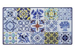 Azulejos, Tisch inspiriert von portugiesischen Majolikafliesen