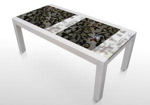 Colorado Inc114, Tisch mit Lavasteinplatte