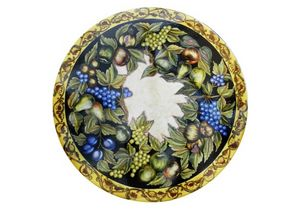 Natura Frutta Caravaggio, Tisch inspiriert von Caravaggios Gemälden