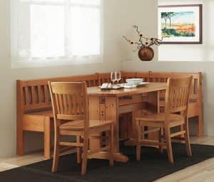 Sammlung Veronica, Bench Holztisch im traditionellen Stil, zum Start