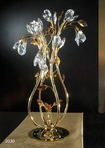 Art. 2030 Matisse, Tischlampe mit Swarovski Kristalldekorationen