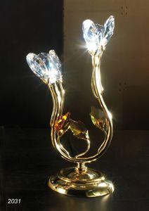 Art. 2031 Matisse, Tischlampe mit Swarovski-Kristallen