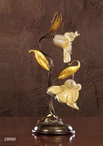 Art. 29890 Jolie, Tischlampe in venezianischem Glas