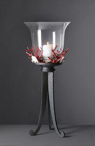 CORALLI HL1048CA, Koralle Tischlampe aus Eisen