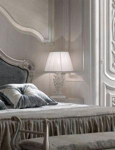 Luigi XVI Art. ABA02, Nachttischlampe, geschnitzt