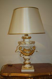 TABLE LAMP ART.LM 0002, Luxuriöse klassische Tischlampe