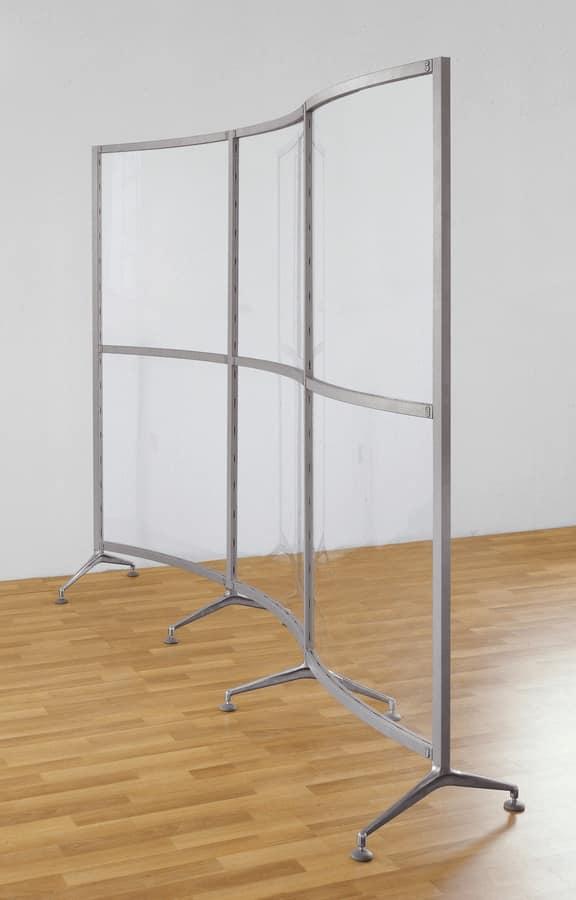 Archimede 2, Partitionen äußerst flexibel für die Büros
