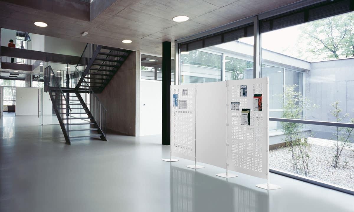 Arianna 4, Modulare Platten Partitionen für Büros