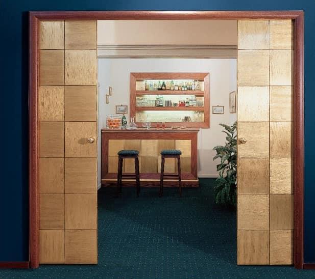 Collezione Century, Kundenspezifische Schiebetüren, für Hotelausstattung, hochwertige Verarbeitung
