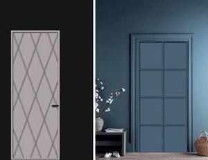 Cage, Tür mit geometrischen Einsätzen