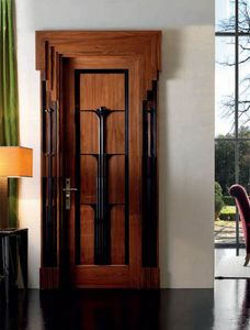 Expò 1925 Art. 1930/QQ, Tür aus poliertem Rosenholz