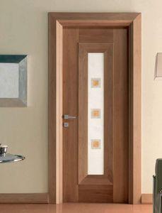 Mondrian Art. 913/QQ/04, Tür mit dekorativem Alabastereinsatz