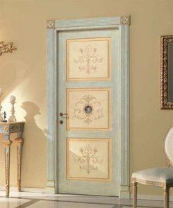 Paestum Art. 755/QQ/P, Tür mit Blumenschmuck