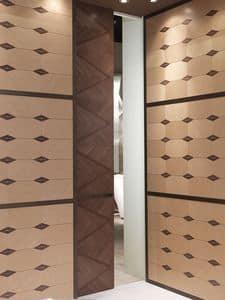 POR03 Galileo Tür, Schiebetür, für Hotels und Restaurants