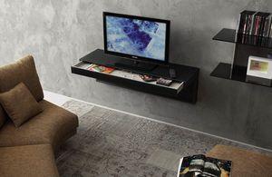 a107 tom, TV-Ständer mit Schublade und Kabelöffnungen