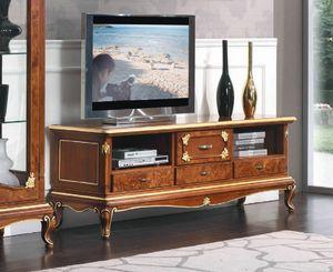 Art. 3050, Niedriger TV-Ständer im klassischen Stil