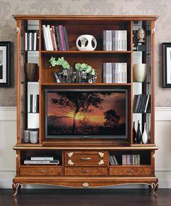 Art. 3078, TV-Schrank im klassischen Stil