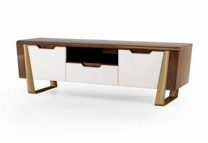 ART. 3454, TV-Schrank mit zeitgemäßem Design