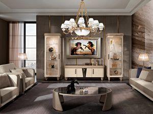 Diamond TV-Komposition, TV-Ständer für Wohnzimmer