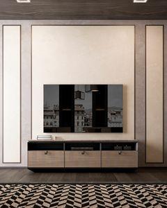 Dragonfly Art. D640, Niedriger TV-Schrank
