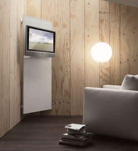k102 nascondinoTV, Modernes TV-System mit dresshanger und objectbox System