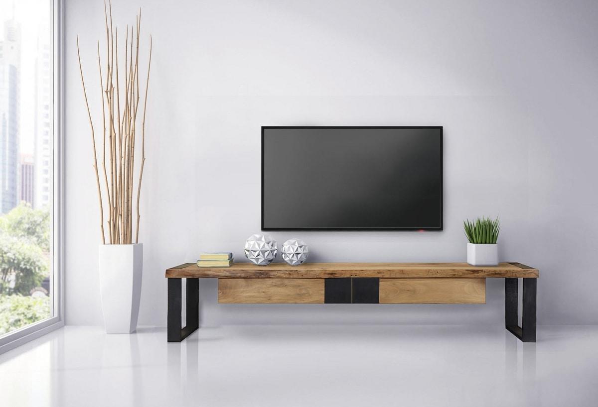 Wohnzimmermöbel mit Platte in Briccola  IDFdesign