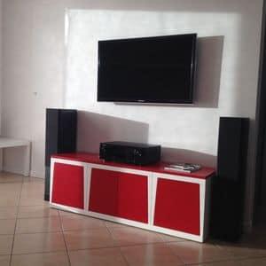 Minired, Modulare TV-Ständer für Wohnzimmer