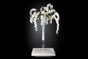 Eternity Vaso Madame Butterfly, Glasvase mit Blumenarrangement