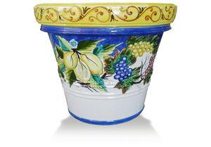 Lemon-Pot Frutta Rosy, Terrakotta-Vase