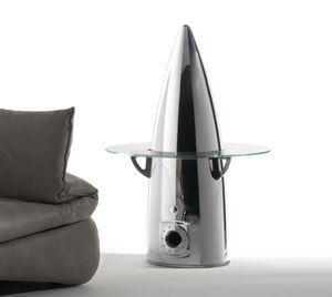 AIR-TAV0150, Couchtisch mit Flugzeugteilen gemacht