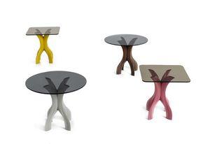 Cross, Kleiner Tisch mit Kreuzfuß