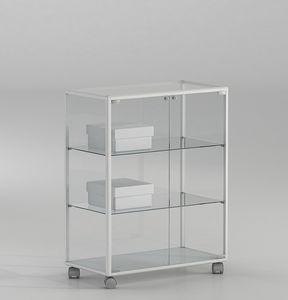 ALLdesign plus 71/BP, Kleine Schaufenster für Geschäfte, mit abschließbarer Tür