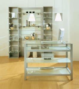 Aury 80/BA, Möbelgeschäft, Schaufenster, modulare Möbel Gewerbeflächen Läden, Boutiquen, Showroom
