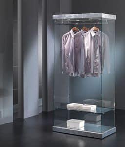 Black&White 9/SA, Schaufenster für Kleidung Belichtung, Glas-Konstruktion, für Geschäfte