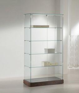 Laminato 130/CC, Vitrine mit Glasböden