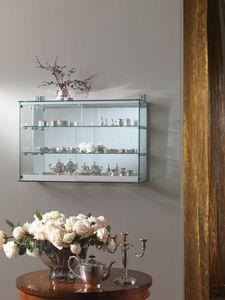Laminato 200/F, Wandvitrine mit Spiegelrückseite