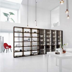 Modo M5C91, Bücherregal mit Glastüren