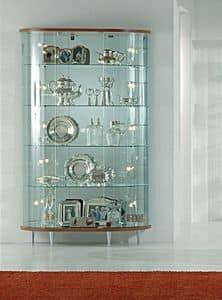 Top Line 3 3/M, Glasvitrine, speichert Möbel
