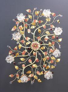 99008, Deckenleuchte mit Blumenmuster