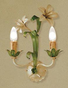 A.3545/2, Wandlampe aus Glas, Florentiner Stil