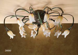 Art. 26690 Butterfly, Handgefertigte Deckenleuchte im klassischen Design