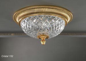 Art. CRISTAL 152, Elegante Deckenleuchte im klassischen Design