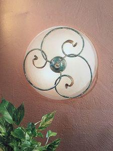Deckenlampe 2050/PL, Deckenleuchte aus Eisen, Outlet-Preis