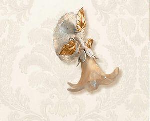 F.6510/1, Wandspot mit Elfenbein- und Golddekorationen
