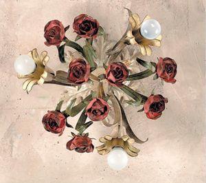 PL.6070/3, Deckenleuchte mit dekorativen Rosen