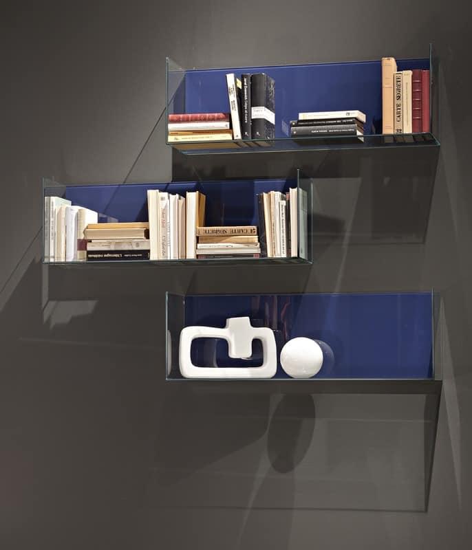 GLASSBOX comp.01, Originalböden aus Holz und Kristall für Wohnzimmer
