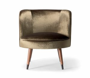 CANDY LOUNGE CHAIR 061 P, Umhüllender Sessel
