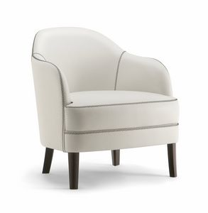CHICAGO LOUNGE CHAIR 015 PL, Handgefertigter Sessel
