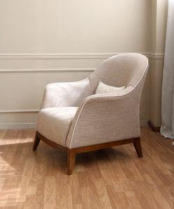 Dalla Spiga, Sessel mit geschwungenen Formen